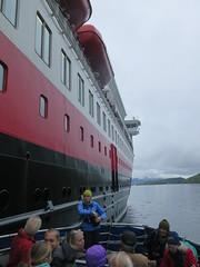 Og derned har vi forlatt Finnmarken (Arne Sund) Tags: hurtigruten trollfjorden rnsafari