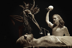 The Dreamcatcher (12) (JB Knibbs) Tags: blackandwhite film sepia creepy laboratory horror silentfilm