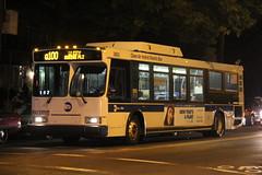 IMG_3952 (GojiMet86) Tags: street new york city nyc bus buses 21 21st orion mta 23 avenue 23rd vii 2007 genii hlf q100 3603