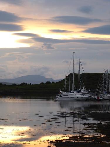 sunset yacht
