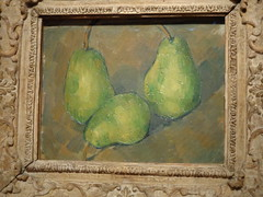 Cezanne (sftrajan) Tags: sanfrancisco stilllife art museum painting pears exhibit artmuseum impressionist californiapalaceofthelegionofhonor nationalgalleryofartwashington intimateimpressionism