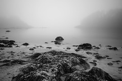 Ucluelet Morning (andy6white) Tags: morning bw white canada black blur vancouver ed nikon focus long exposure bc zoom bokeh g north filter distance ucluelet f28 aw density d800 neutral 2470mm neutraldensityfilter andywhite nd110 andy6white aemw