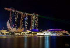 Singapore Marina Bay Sands (gerprix) Tags: show marina bay laser sands sinagapore