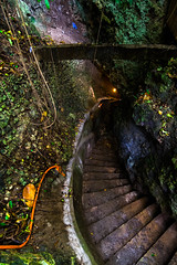 Descent (Skagos26) Tags: travel mystery stairs dark island scary asia southeastasia steps descent cave boracay exploration cavern philippeans d7100