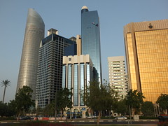 The Corniche, Abu Dhabi (كورنيش أبوظبي) (twiga_swala) Tags: skyline architecture buildings bay gulf united uae emirates abudhabi arab corniche highrise abu dhabi emirati dabi emiratos emiraten skyscrapes emirats كورنيش thecorniche abudhabiكورنيشأبوظبي