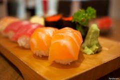 Take Sushi Moriawase (fandarwin) Tags: sushi lens restaurant fan darwin panasonic take pancake 20mm scotts isetan gf1 hoshigaoka moriawase fandarwin