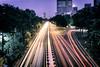 Storrow Drive Traffic from the BU Bridge (Eric Kilby) Tags: longexposure bridge boston night drive traffic fullmoon hancock streaks bu prudential bostonuniversity storrow supermoon