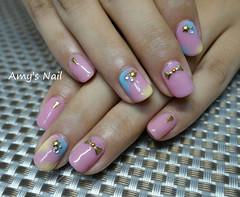 Amy's Nail  (aK990123) Tags: nail gel nailart       nailgel