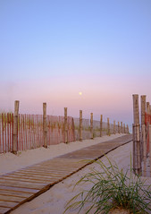 path (johnnyb053) Tags: sea beach water newjersey sand dunes fullmoon walkway boardwalk jerseyshore seasideheights x100 fujix100