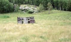 Abandoned Cabin 08132014 (Orange Barn) Tags: southdakota blackhills crazyhorse crazyhorsememorial