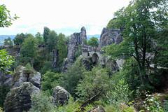 Bastei (cinxxx) Tags: germany deutschland saxony sachsen germania bastei rathen lohmen