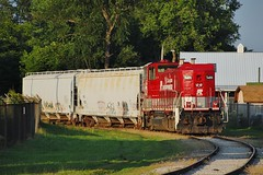RJCL 5400 Derailed Dover Fairgrounds 1 6/25/14 (Poker2662) Tags: ohio 1 fairgrounds rj 5400 dover derailed corman genset 62514 rp20bd rjcl