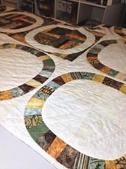 Quilt for Lindsey & Brian (LLfasrn) Tags: wedding quilt ring schmidt denyse singlegirlquilt
