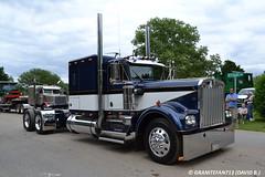 Kenworth W900A Sleeper Tractor (Trucks, Buses, & Trains by granitefan713) Tags: tractor kenworth w900 amodel w900a trucktractor kenworthtruck kenworthw900