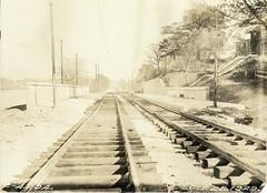 Valley Road Station (Boston City Archives) Tags: boston publictransit dorchester historicboston historicdorchester dorchesterrapidtransit transitdepartment