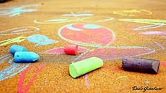 gessetti (dado.gianluca) Tags: canon eos tamron giochi bimbi colorati trezzano gessetti pesciolino