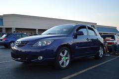 Mazda 3 (JoshGPhotos) Tags: ford car st honda nikon si ground subaru toyota bmw civic mazda miata bbs zero meet mazda3 d3200