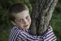 TREE HUGGER (CJs STUDIO) Tags: trees boy england s