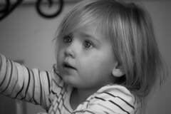 beautiful eyes (moorec2175) Tags: portrait bw baby white black cute beauty smile smart canon perfect sweet sister stare bnw