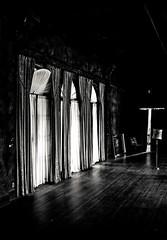 The Wall BW (Shane Jay Hayes) Tags: blackandwhite sculpture orange house abandoned architecture landscapes blackwhite artist florida shane interior details landmark historic hills citrus aged mansion hayes lightroom toning howey masterworks cadazan