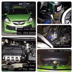 Honda Brio Capsul 36.5 L สามารถชมงานติดตั้งแก๊ส LPG นัดคิวติดตั้ง ตรวจเช็คระบบ ปรับจูน  ได้ที่ Nine Auto Service  ลำลูกกา คลอง 6 โทร 084-9383802 http://www.facebook.com/nineautoservice.2011