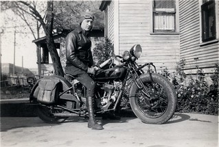Harland Krause, Indian Motorcycle
