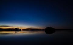 August Sunset (@Tuomo) Tags: sunset summer lake finland stars landscape nikon coolpix jyväskylä päijänne nightsape nikoncoolpixa coolpixa