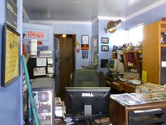 The office (Jer*ry) Tags: shop huntsville garage neighborhood business fivepoints carrepair