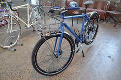 (ericmonasterio) Tags: monasterio racerracks bikecultshow 2014 raccerracks custom em eric dave perry harry shwartzman ben peck nycframebuilders nyc knockdown center usa bicycles