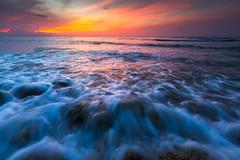 Montego Bay Seascape (mitalpatelphoto) Tags: ocean blue sunset seascape beach water vertical clouds landscape sand jamaica montegobay saintjamesparish canon5dmiii stbransburg