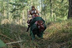 King Grayskull and Battle Lion (rodstoybox) Tags: king lion battle masters universe heman eternia grayskull
