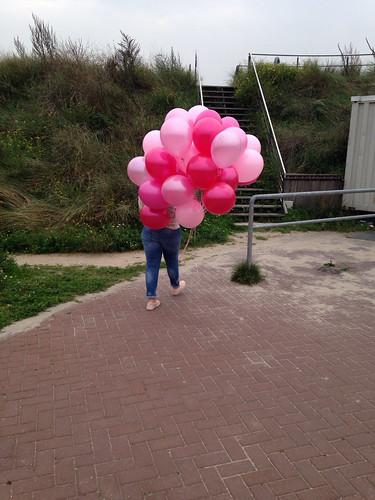 Heliumballonnen Restaurant aan Zee Oostvoorne