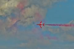 RED ARROWS CROMER CARNIVAL 2014 (ferret23) Tags: carnival red nikon norfolk arrows redarrows cromer 2014 sigma70200f28 d5100