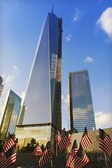 World Trade Center (Martn Bibiloni) Tags: world new york building nikon manhattan ky flag united sigma center states trade d7100