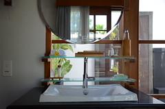 Luxury (Allison Mickel) Tags: bali indonesia bathroom hotel mirror nikon honeymoon sink faucet seminyak samaya d7000