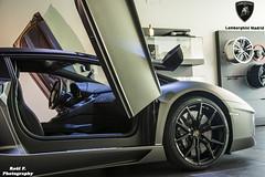 Lamborghini Aventador LP700-4 Roadster Grigio Titans (RAFFER91) Tags: madrid espaa matt de grey spain nikon photoshoot huracan showroom lamborghini exclusive pozuelo dealer roadster automobili alarcon carspotting d7100 aventador lp7004 lp6104 raffer91