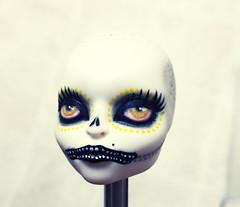 Skelita Fail (bantambuell) Tags: fashion monster dayofthedead skeleton katrina doll ooak diadelosmuertos fashiondoll repaint monsterhigh skelita skelitacalaveras
