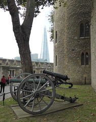 Shard & Cannons (neuphin) Tags: london tower cannon shard