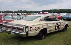 1966 Dodge Charger (crusaderstgeorge) Tags: cars sweden dodge classiccars västerås dodgecharger americancars powermeet americanclassiccars powerbigmeet 1966dodgecharger amerikanskabilar july2014