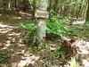 Mount Josephine trail marker
