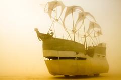 305. Space Wench (prenetic) Tags: storm green dusty sand ship desert playa burningman bm dust duststorm artcar 2014 mutantvehicle spacewench bm2014 burningman2014