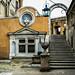 Rom, Engelsburg - Castel sant' Angelo - Mausoleum di Adriano (Zugang zum Appartamento del Castellano - Papst Palast)