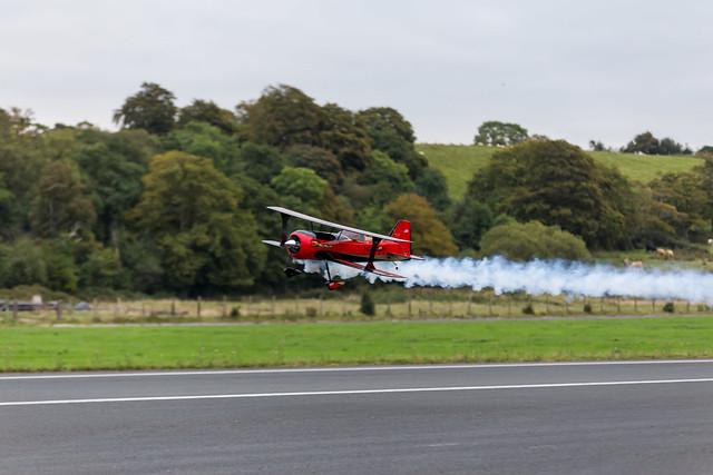 Phil's Hangar 9 Beast with smoke.