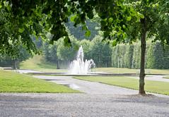 Park (schreibtnix on'n off) Tags: park summer travelling fountain reisen europa europe sweden sommer schweden sverige drottningholm fontäne olympuse5 schreibtnix