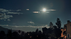 Moon-Landscape (Shaverd Yan Photography) Tags: nightphotography sky moon color clouds tripod lanscape t3i sunland