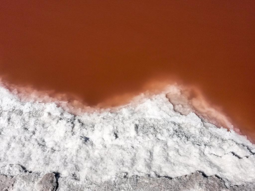 Salt Pans, Walvis Bay, Namibia