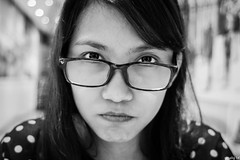 Annoyed Stare (gelomalig) Tags: expressions filipina
