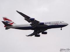 British Airways --- Boeing 747-400 --- G-CIVD (Drinu C) Tags: plane heathrow aircraft sony boeing britishairways dsc 747 lhr oneworld egll gcivd hx100v adrianciliaphotography