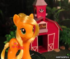 AJ Styling Promo 2 (DerpyDerp910) Tags: toy toys is friendship little magic pony fim hasbro mlp applejack my brony mlpfim derpyderp910