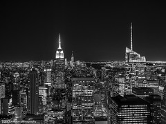 NYC (zoeblue_photography) Tags: nyc newyorkcity nightphotography urban blackandwhite architecture cityscape centralpark empirestatebuilding bnw nightscapes olympusomdem1 zoepamintuan zoebluephotography